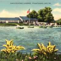 0051 - Main Boating Landing, Pymatuning