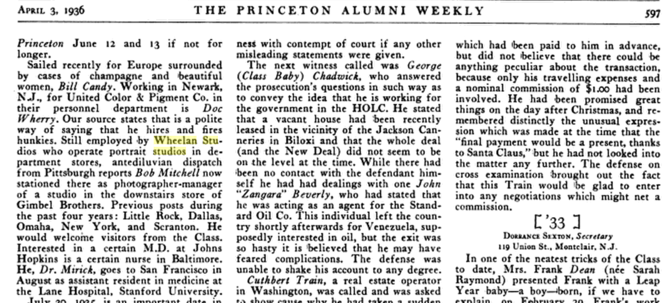 The Princeton Alumni Review