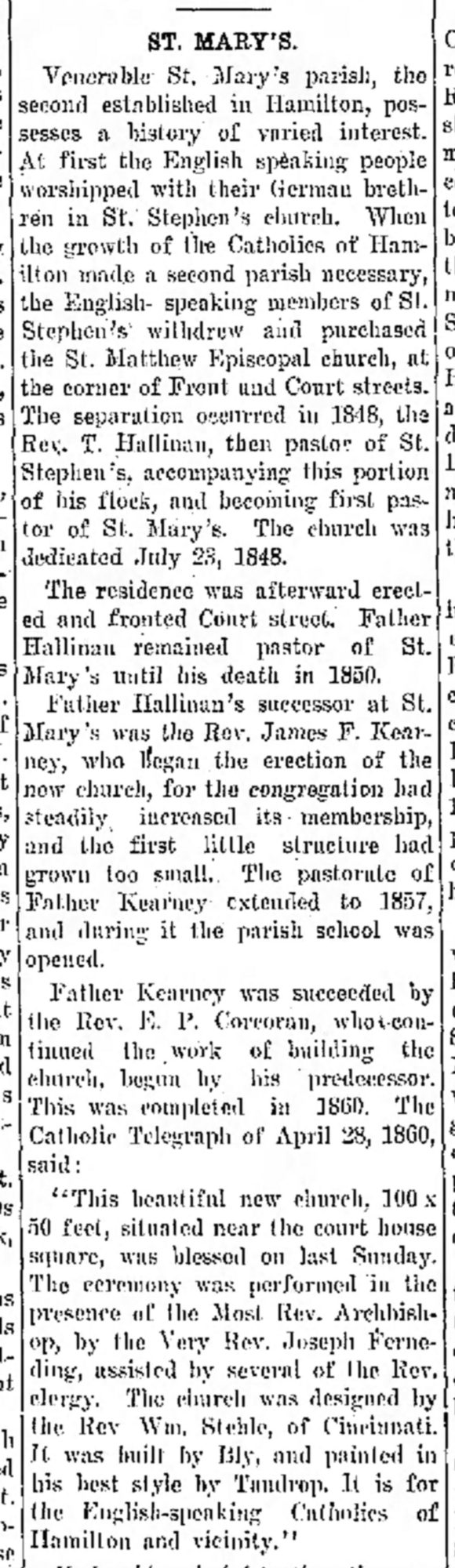 1911-12-20 Hamilton Evening Journal (Hamilton, Ohio) Wed p45 Painted by Tandrop, clipping