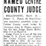 1927-03-15 The Evening News (Harrisburg, PA) Tue p24 James C Furst Named Centre County Judge