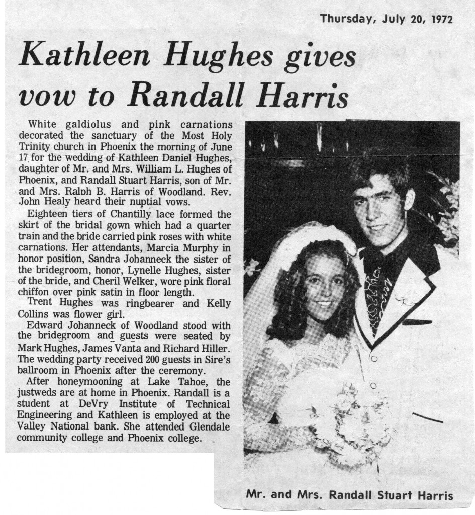 1972-07-20 Kathleen Hughes gives vow to Randall Harris