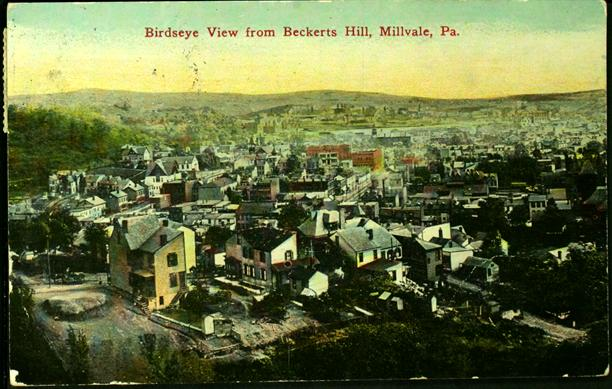 Birdseye View from Beckerts Hill, Millvale, PA