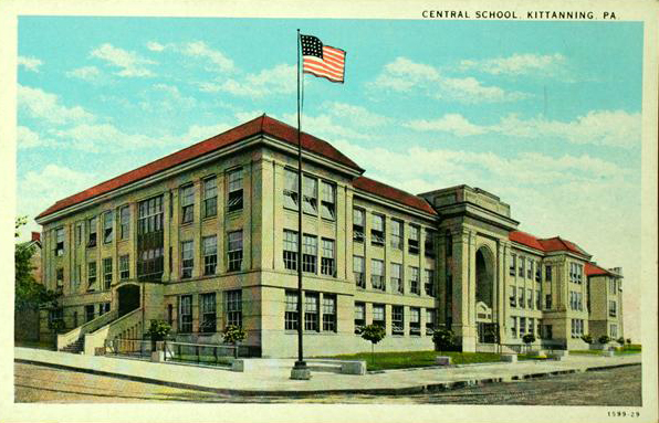 Central School, Kittanning, PA