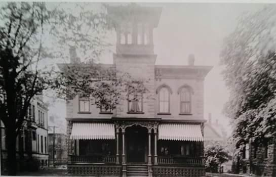 Harrar House, early