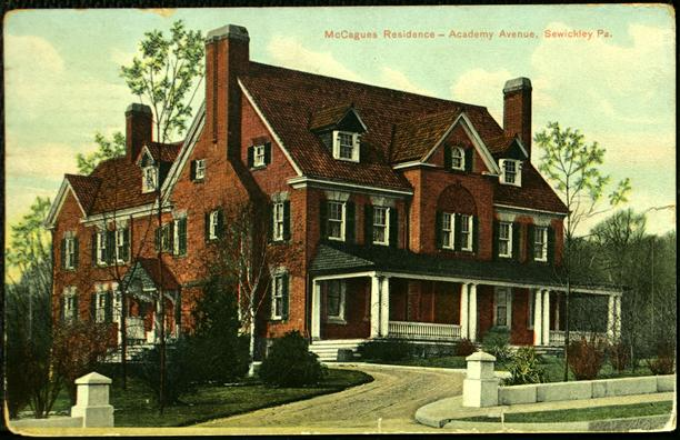 McCagues Residence, Academy Avenue, Sewickley, PA