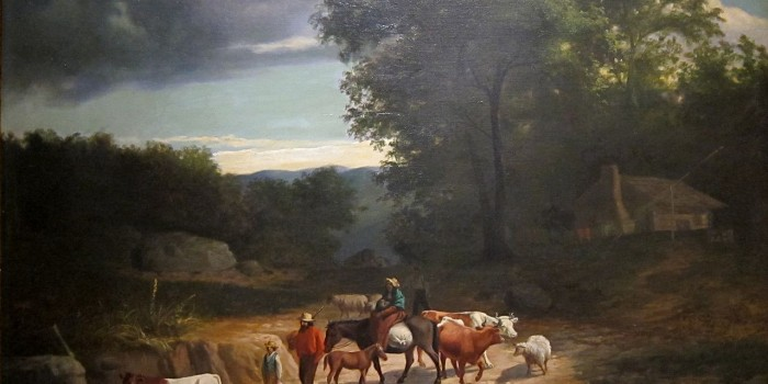 Moving Further Westward, ca. 1840, by James Henry Beard (1812-1893), Cincinnati Art Museum