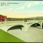 Penn Street Viaduct, looking Northeast, Reading, PA