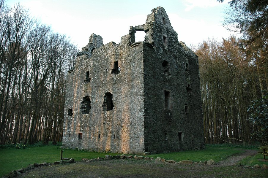 Sorbie Tower, ancient seat of Clan Hannay