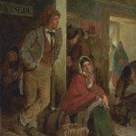 The Emigrants 1864 by Erskine Nicol 1825-1904