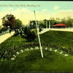 The Floral Sun Dial, City Park, Reading, PA