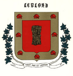 le Blonde Coat of Arms